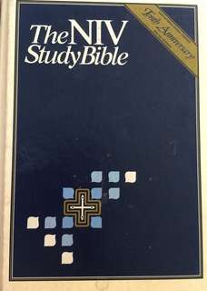 The NIV Study Bible (hard cover)
