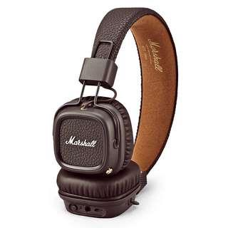 Marshall Major 2 Headphones Bluetooth Original - Brown