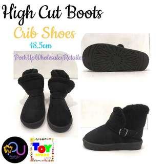 High Cut Boots Crib Shoes