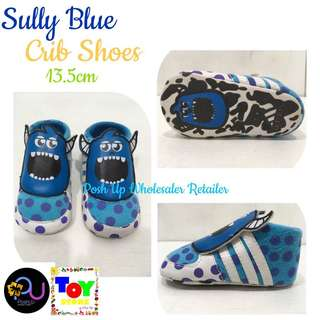 Sully Blue Crib Shoes