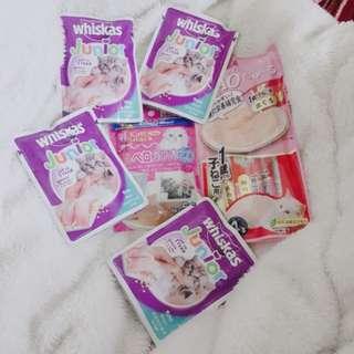 (現貨賠本賣)6件組 幼貓 肉泥