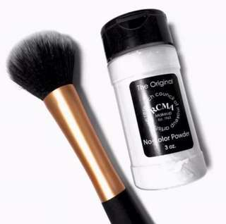 💄❤️ RCMA Makeup Est 1963 No Colour Setting Powder 3 OZ (The research council of makeup artists)