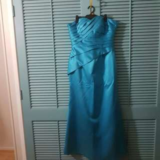 Blue/Teal Gown