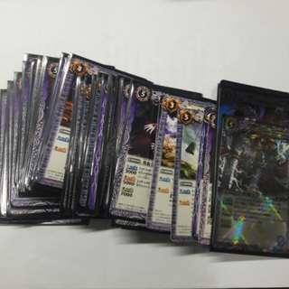 BS 紫色卡組 (含3張X)
