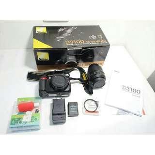 Nikon D3100 lens 18-55mm