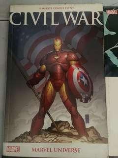 Civil War Marvel Universe