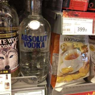absolute vodka 750 ml