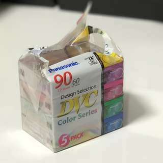 Panasonic Mini-DVC Tapes