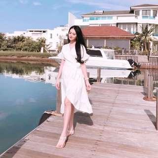 Label8 white dress