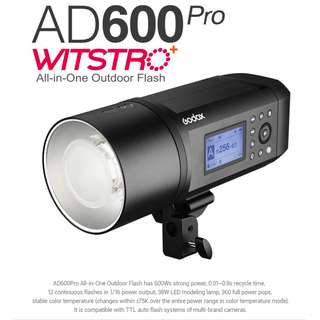 Godox AD600Pro Witstro All-In-One Outdoor TTL Flash