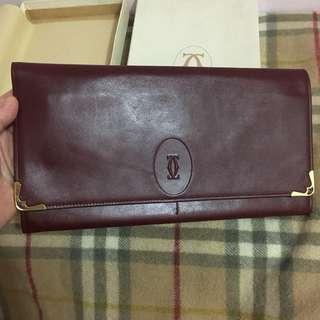 Cartier Clutch Bag (已減價 Vintage)  比 dior celine prada gucci