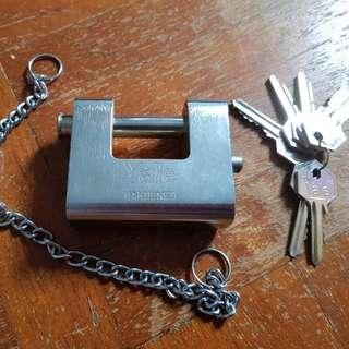 Yale harden HDB gate door pad lock