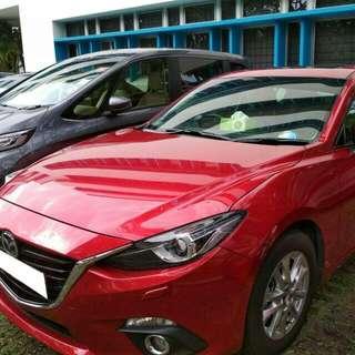 Mazda 3 1.5L Deluxe Sunroof 2016