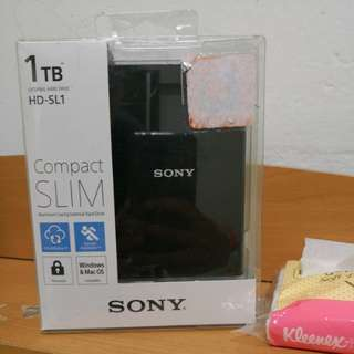 Sony 1Tb brand new hard disc