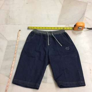 #Bajet20 CJ Denim Bermuda (stretchable waist)