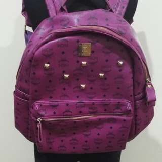 MCM Backpack Purple Edition Unisex