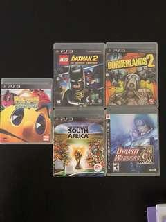 PS3 Games bundle/set