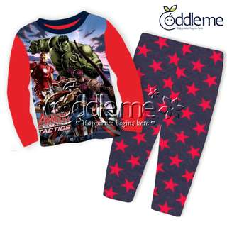 In Stock: Avengers Design Pajamas/ Sleepwear 2077