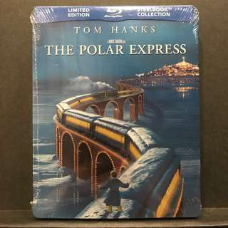 POLAR EXPRESS Blu-ray Limited Edition Steelbook | Canada-Import OOP US$47/S$58