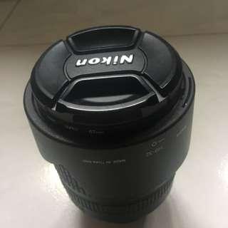 Nikon 18-105mm AFS f3.5-5.6G DX ED