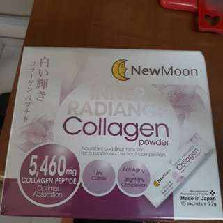 New moon Inner Radiance Collagen Powder