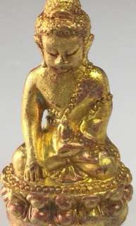 PT Chao Seng WAT BANG TRAN BE2557 phra Kring 1st batch,yellow copper