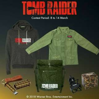 Tomb Raider Official Merchandise