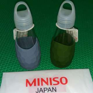 Botol Minum Kaca - Miniso