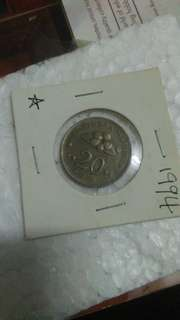 Old coin 1994