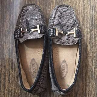 Authentic Tod's Snakeskin Shoes