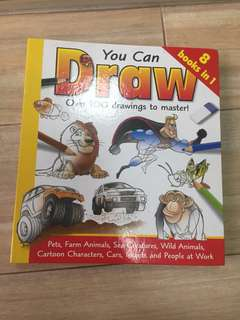 You Can Draw 8-in-1 book
