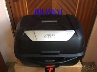 GIVI E43 BASIC SET(BOX & BASEPLATE ONLY)(NO BACKREST)(FREE INSTALLATION)