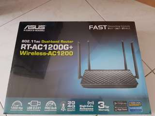 Bn Asus dual band wifi router