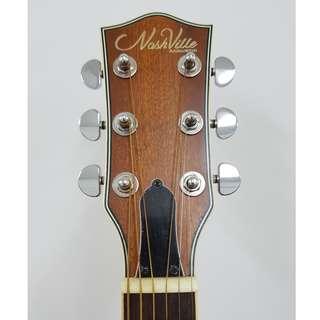 Nashville Full Solid Acoustic FG-415C