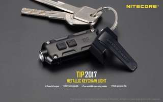 Nitecore TIP 2017 360 Lumens Rechargeable Keychain Light