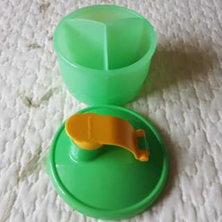 Tupperware Milk Powder Dispenser