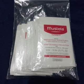 Mustela stretchmark preventions oil