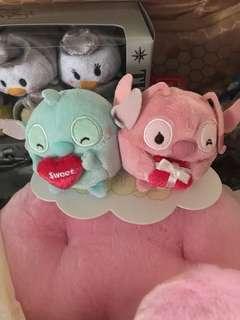 Disney ufufy mini set stitch & angel