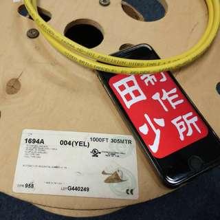 平價 DIY 線王 Belden 1694A for Coax / Digital Coax / RCA / RF Cable