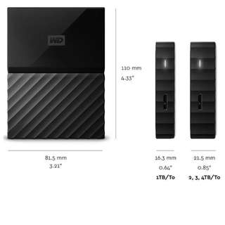 WD My Passport Portable Storage