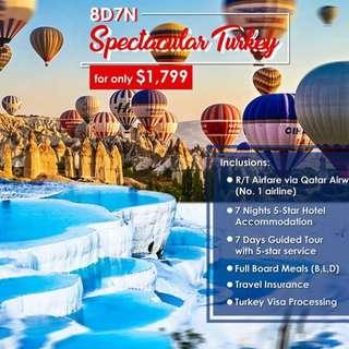 TURKEY ALL IN PACKAGE
