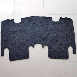 Rear Floor Mat Coil Mat 3M Honda Fit Jazz GE6 GE8