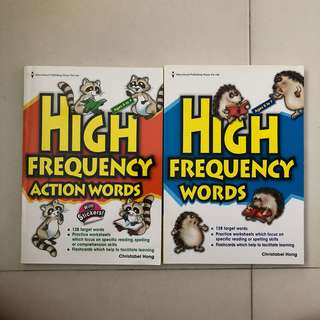 English- High Frequency Words & Action Words