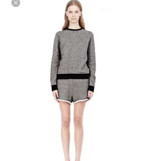 NEW T by Alexander Wang French Terry Sweatshirt