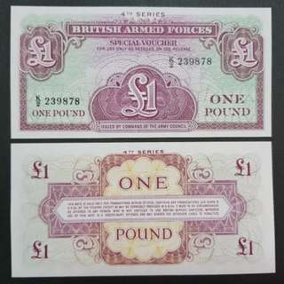 British Armed Forces 1 Pound 🇦🇨 !!!