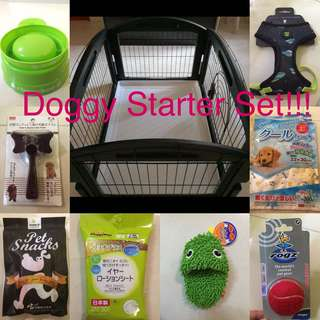Doggy starter pack!