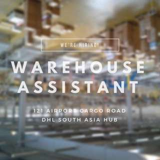 Warehouse Assistant (MALE ONLY)