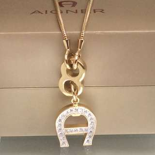 Aigner Gold Necklace