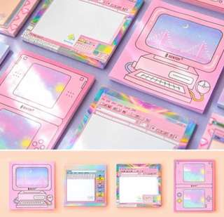Aesthetic Pastel Notepads