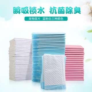 Puppy Dog animal pee pad sheet 20pcs  Size XL ( 60cm X 90cm)